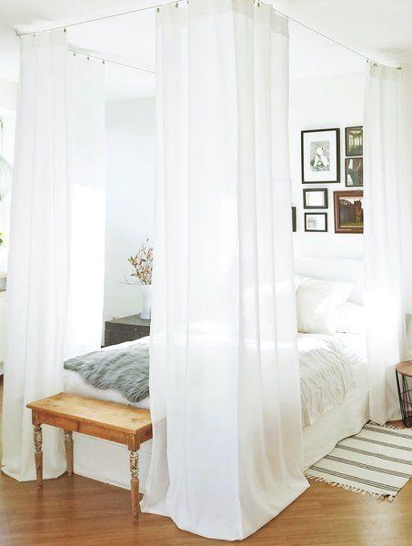 Schön schlafen u2013 10 Dekotipps für ein hübsches Schlafzimmer - schlafzimmer einrichtung nachttischlampe