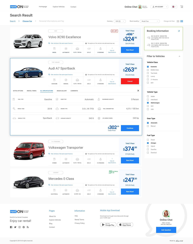 Renton Modern Rent A Car Car Rental Psd Template Ad Rent Modern Renton Car Car Rental Rent A Car Car Car