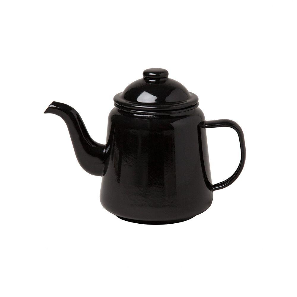 Discover the Falcon Teapot - Coal Black at Amara