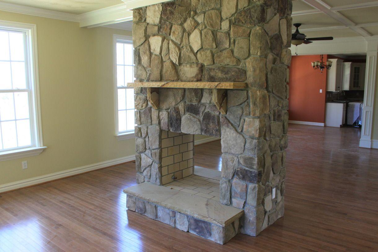 Double Sided Stone Fireplace Fireplace Ideas Pinterest Stone Fireplaces Fire Places And