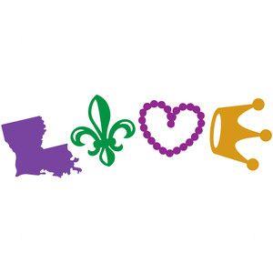 Louisiana mardi gras love | Mardi gras | Mardi Gras, Mardi ...