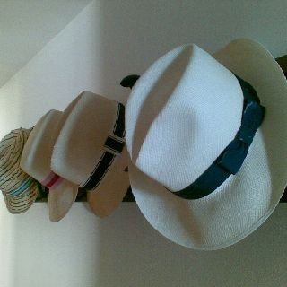 Sun hats at La Franc, Spain