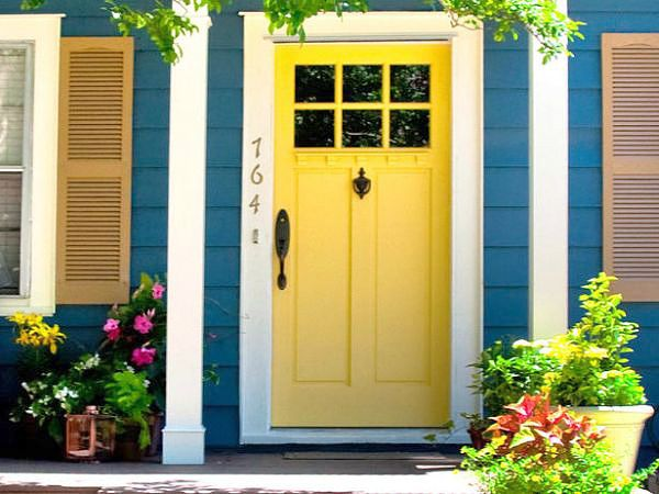 Reverse The House And Door Colors Keep White Trim Front Makeovers