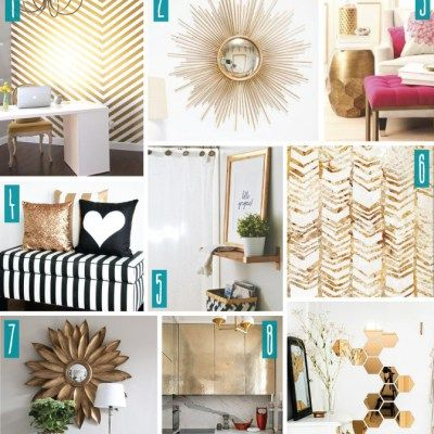 Color Series; Decorating with Gold