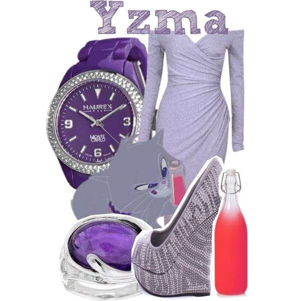 Yzma as a Cat from Emperor's New Groove by god-girl on Polyvore featuring moda, Chicnova Fashion, Haurex and Hagit
