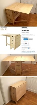 60 Folding Table Ideas You Wouldn T Miss Ikea Table Sewing Rooms Furniture