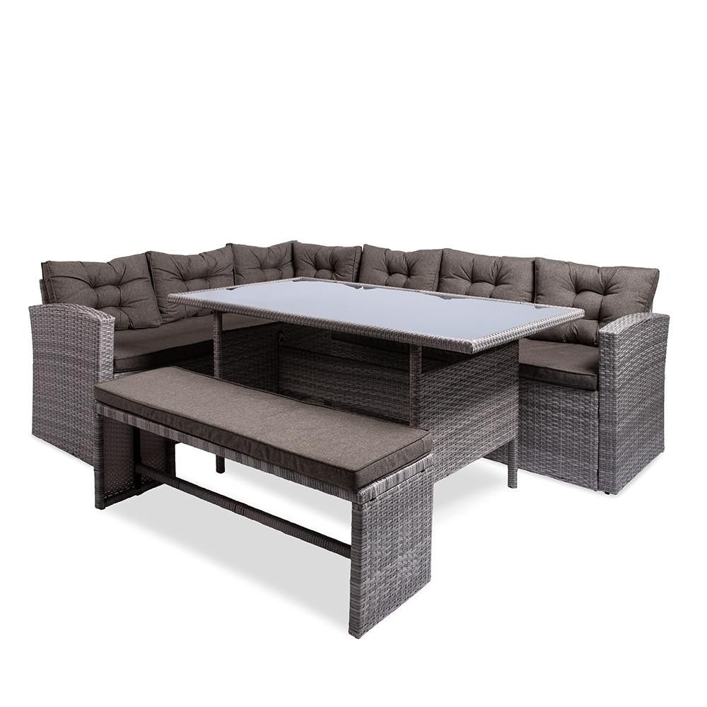 Ksp Caban Outdoor Couch Dining Table Set Of 3 Couch Dining