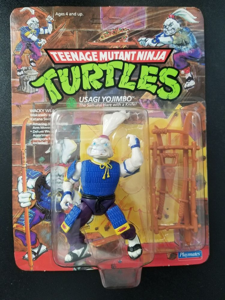Teenage Mutant Ninja Turtles Usagi Yojimbo 1989 Sealed Moc Teenage
