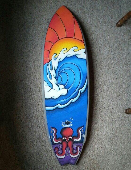Quot Sunrise Sesh Quot By Curtis Wowk Surf Art Using Posca