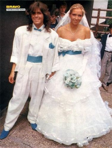 thomas anders wedding 1985 80s music pinterest