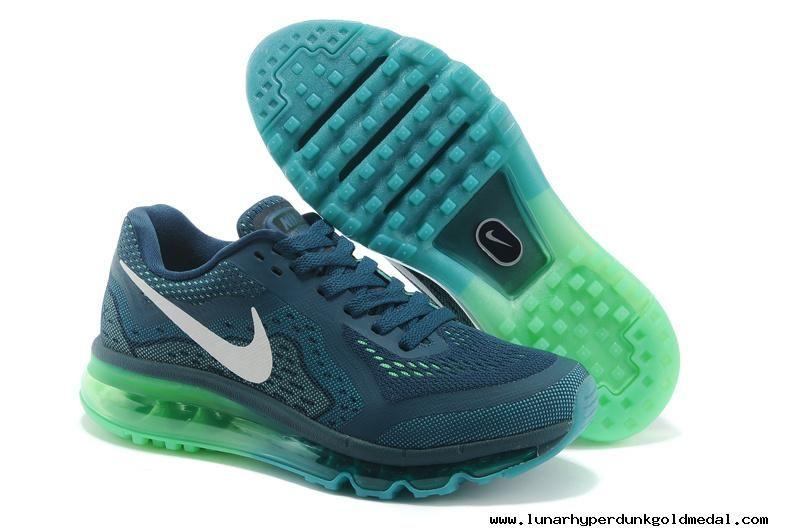 more photos 17606 18eb8 ... switzerland womens nike air max 2014 navy green white shoes 609e5 09270