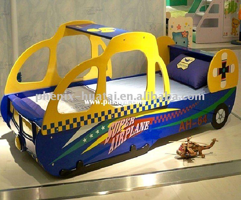modern children car bed