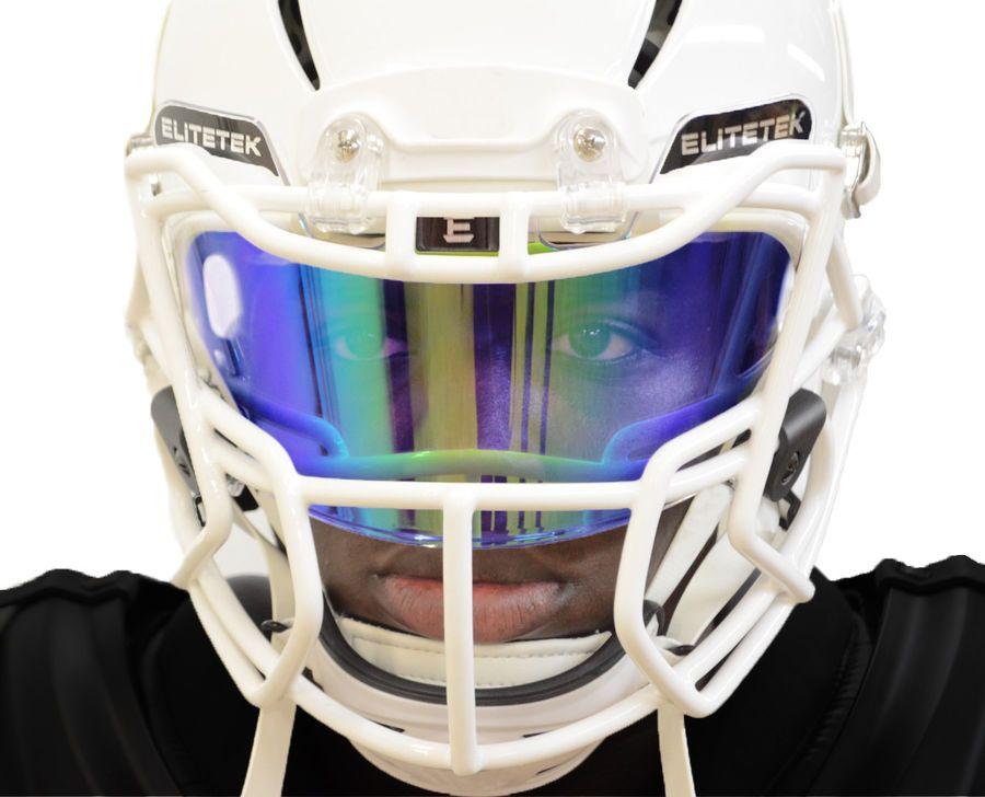Prizm football lacrosse eyeshield facemask visor by