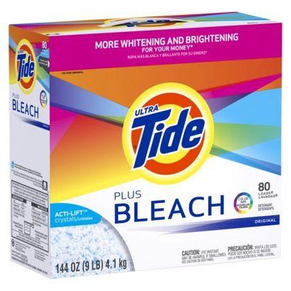 Tide Original Plus Bleach Powder Laundry Detergent 144oz Powder Laundry Detergent Best Laundry Detergent Laundry Detergent