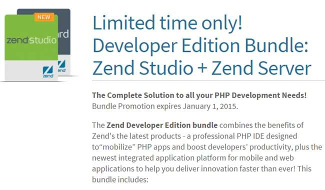 Save Upto 37% Discount Zend Studio + Zend Server Bundle Coupon and Promo Codes   Get Extra 10% Discount on the basis of original Discount! Annually Subscription Price: $269.11, Save $159.89,Save37% Discount Zend Studio + Zend Server Bundle Coupon and Promo Codes. Apply the coupon code at your checkout! It is your option to click the abovelink, after that the page will automatically turn to the right site where you can find the right product and then you can get it at�
