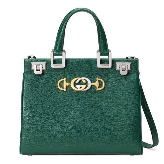 Photo of Gucci – Gucci Zumi grainy leather small top handle bag