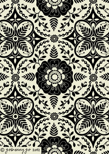 Surface Pattern Design And Illustration By Go Benny Go Surface