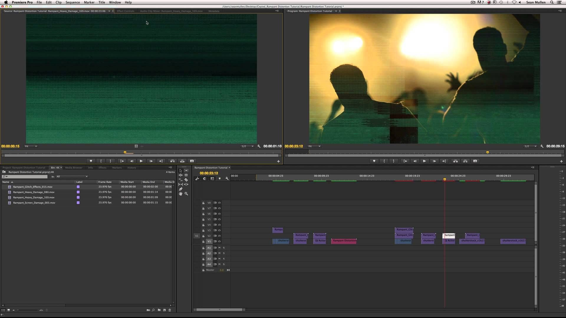 Use Glitch And Distortion Effects To Stylize Your Edit In Adobe Premiere Pro  Use Glitch And