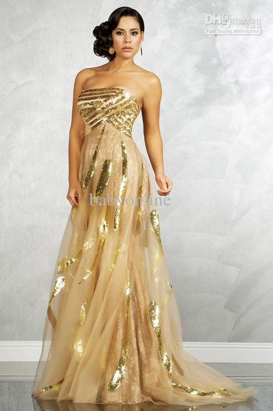 Gold And Black Prom Dresses | Maggie's Wedding | Pinterest | Sexy ...