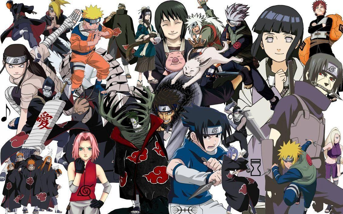 Background Naruto Characters Wallpaper Doraemon In 2020 Naruto Characters Character Wallpaper Naruto Shippuden Characters