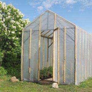comment fabriquer une serre de jardin diy jardinage. Black Bedroom Furniture Sets. Home Design Ideas