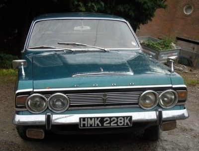 Ford Zodiac Mk Iv Executive 1971 Great Car Got Married To My