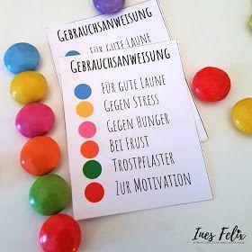 Ines Felix - Kreatives zum Nachmachen: Smarties im Glas als Ostergeschenk