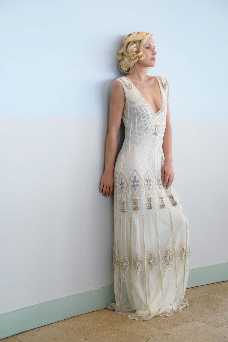 1930s style wedding dresses  Vicky Rowe A Debut Collection of s and s Inspired Heirloom