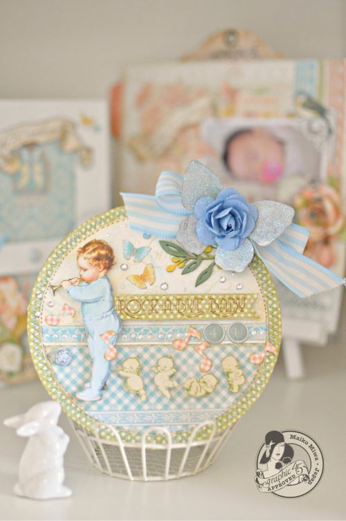 Maiko miwa  little darling card