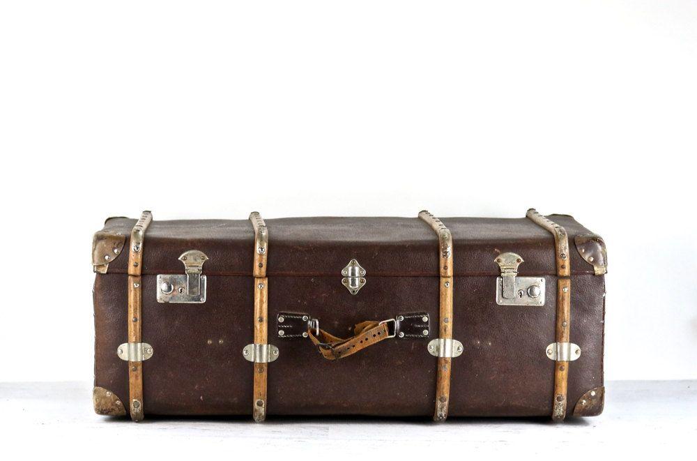 Suitcase XXL, XXL Vintage Suitcase, German Suitcase, Trunk Style ...