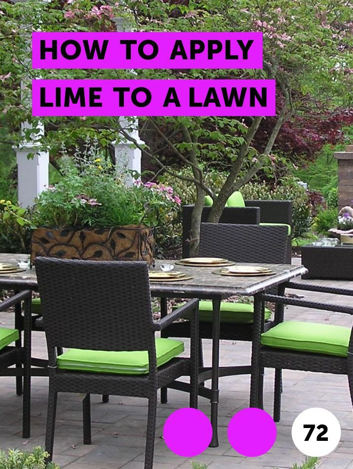 How to Apply Lime to a Lawn Lawn Maintenance Plants