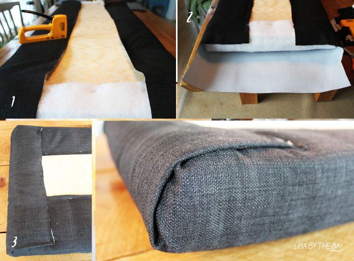 DIY en enkel vadderad sänggavel The Creative Collective Pinterest Sänggavel, Sovrum och