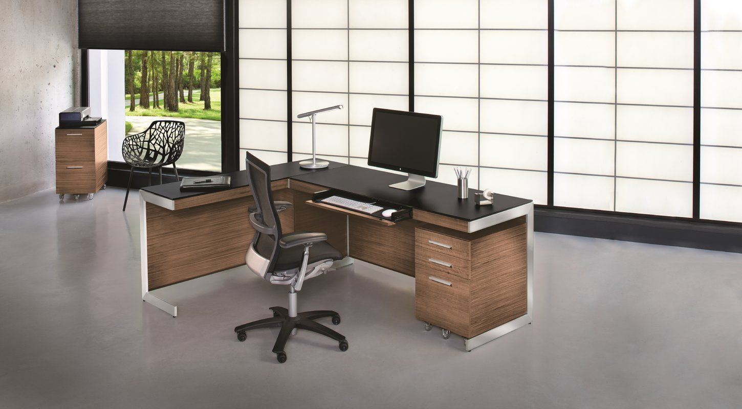 Sequel Glass Writing Desk Home Office Furniture Furniture Home