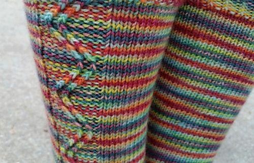 Knitting Pattern Name Zigzagular Socks Free Pattern By Susie White