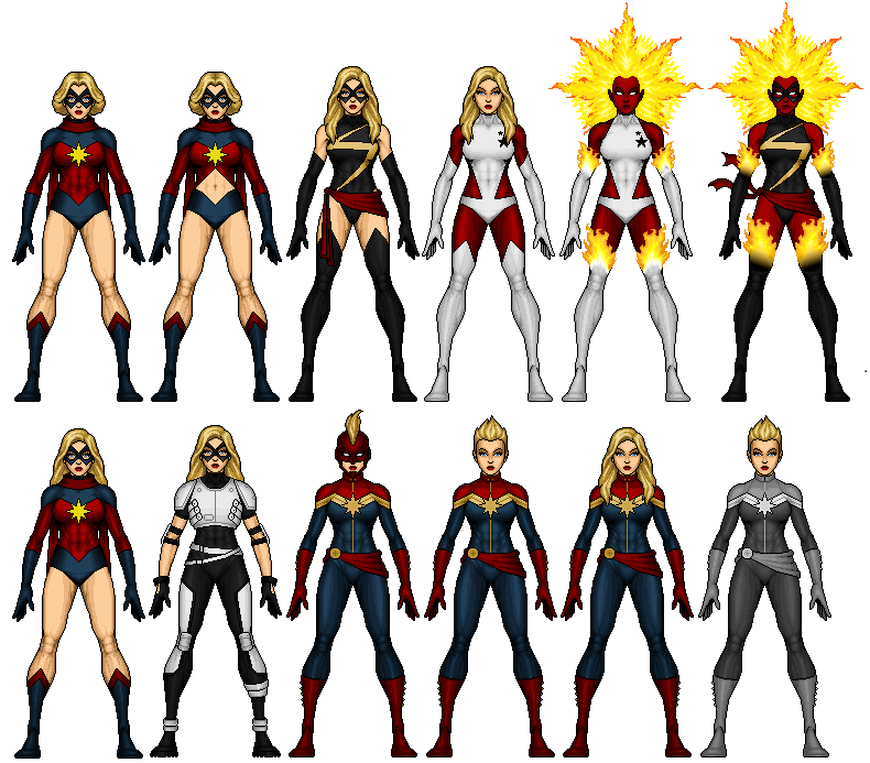 Pixalise Marvel Photo Marvel Costumes Captain Marvel Costume Dc Comics Heroes Long before carol danvers assumed the title of captain marvel, she was ms. marvel costumes captain marvel costume
