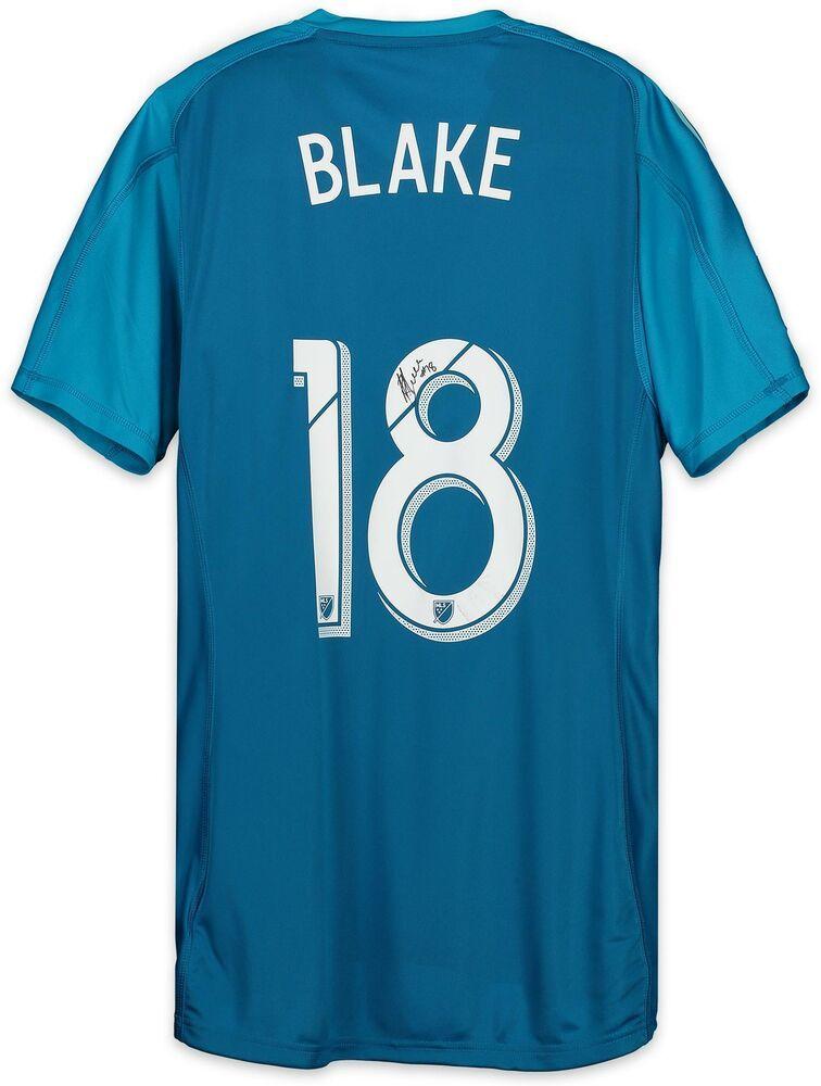 4c14d1f75 Andre Blake Philadelphia Union Signed MU Blue  18 Jersey vs Timbers on  8 4 18  sportsmemorabilia  autograph  football