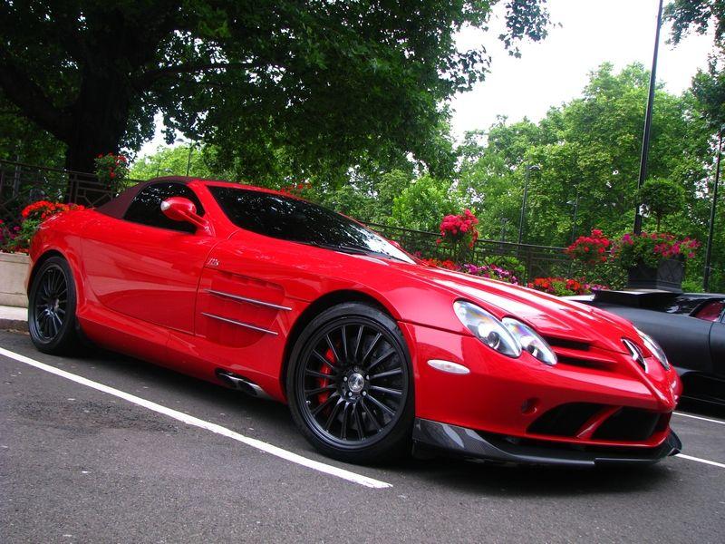 Mclaren Slr 722 Roadster Mclaren Mercedes Slr Mclaren Roadsters