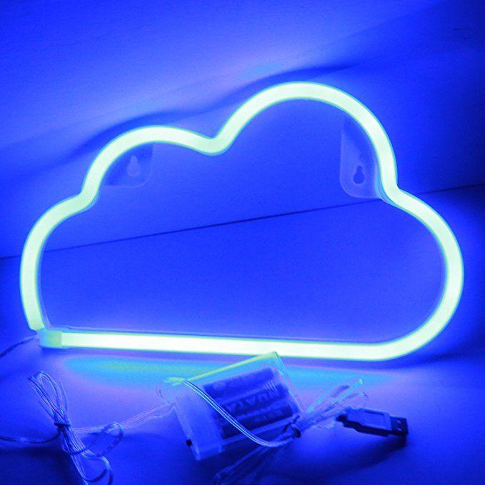 Led Cloud Neon Night Light Xiyunte Vc073 Neon Lampada Da Parete