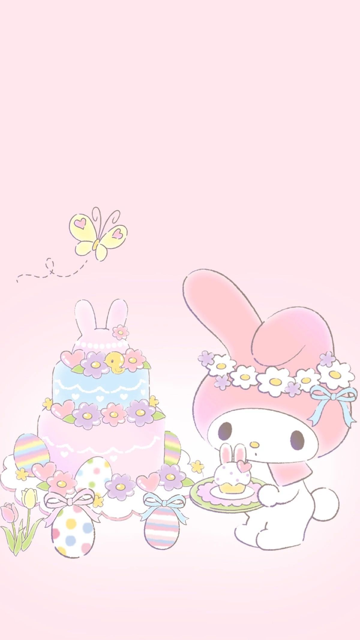 My Melody Easter Spring Wallpaper My Melody Wallpaper