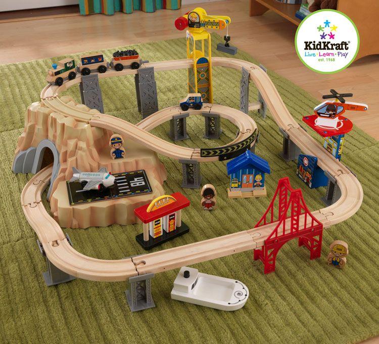 60-Piece Train Set. | Trains Sets & Train Tables | Pinterest | Train set