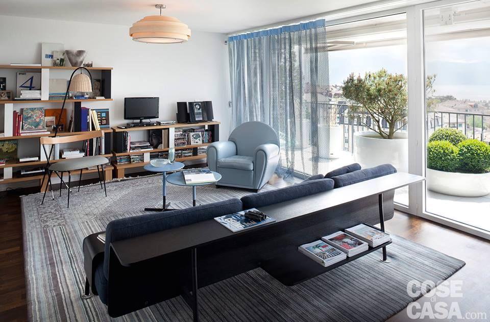 soggiorno azzurro vintage da cose i casa | mobili e idee d ... - Soggiorno Azzurro