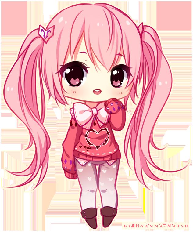 Chibi Legs : chibi, Commission, Hyanna-Natsu, DeviantArt, Anime, Chibi,, Kawaii, Chibi