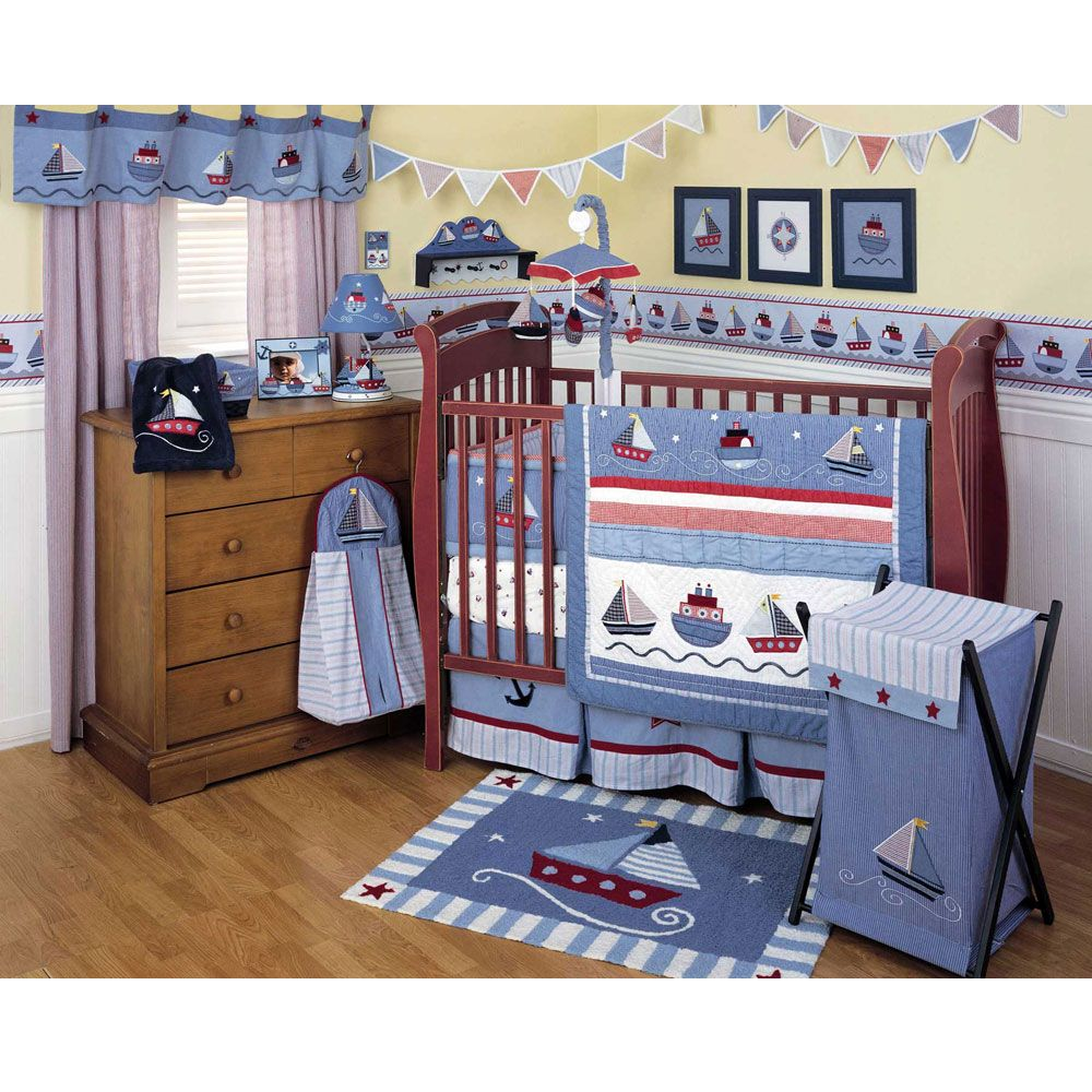 Nautical baby bedding sets - Nursery Image Result For Nautical Sail Crib Set