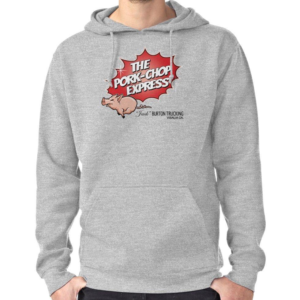 The Pork Chop Express Logo Mens Short Sleeve TShirt Casual Tops Tees