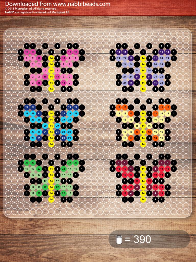 small butterflies perler beads perler beads perler beads beading patterns beads. Black Bedroom Furniture Sets. Home Design Ideas