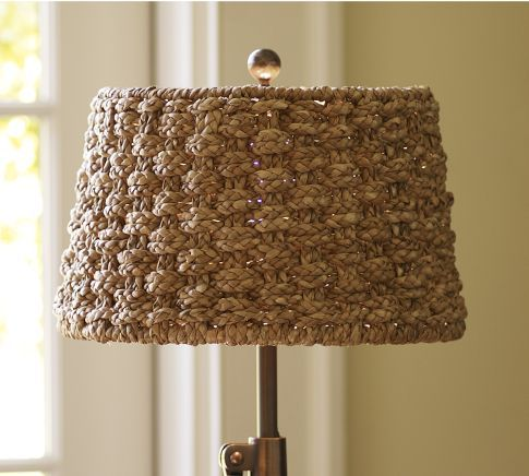 Holbrook Seagrass Tapered Drum Lamp Shade Extra Large Pottery Barn Living Room 79 On Sale Drum Lampshade Lamp Shade Lamp