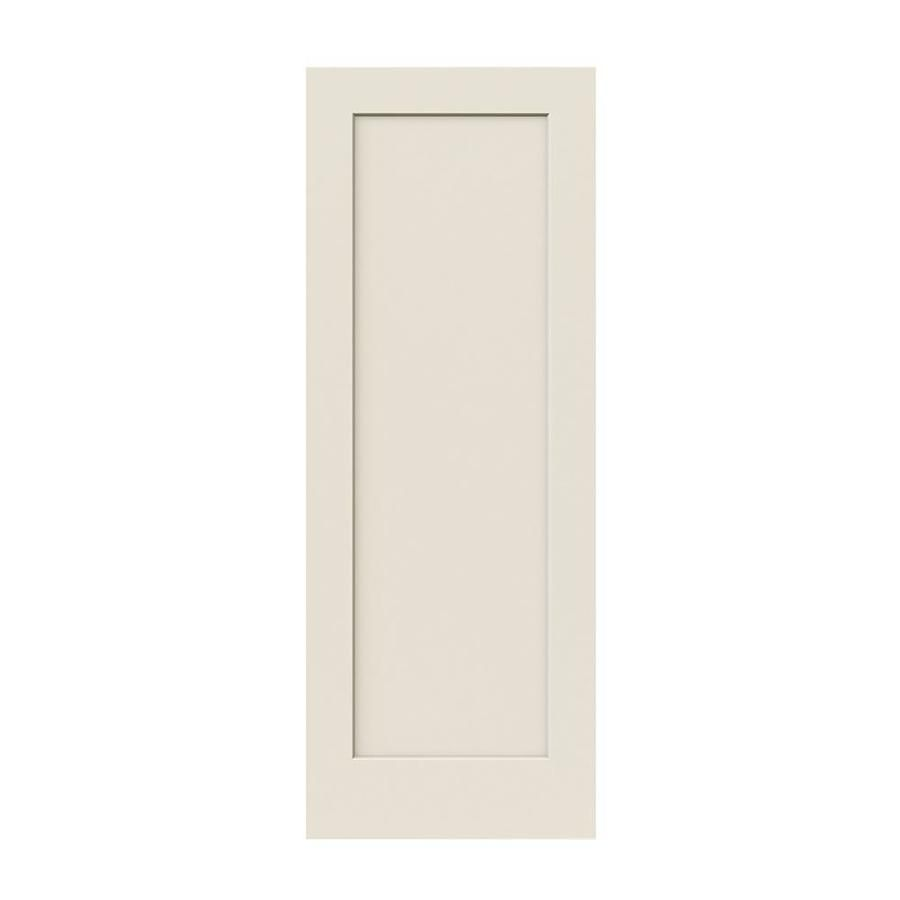 Jeld Wen Madison Primed 1 Panel Square Hollow Core Molded Composite Slab Door Common 28 In X 80 In Actual 28 In X 80 In 2020 Interior Barn Doors Hollow Core Interior Doors Jeld Wen Interior Doors