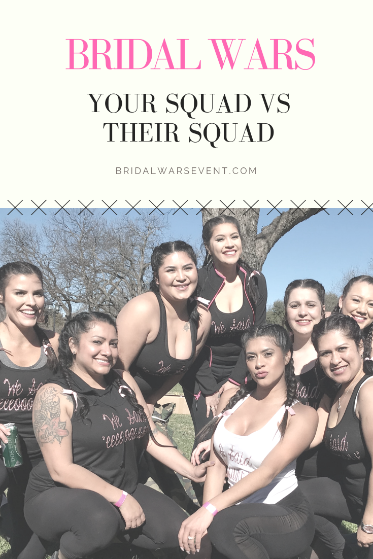 Grab your bridal party and meet us on the field! This will