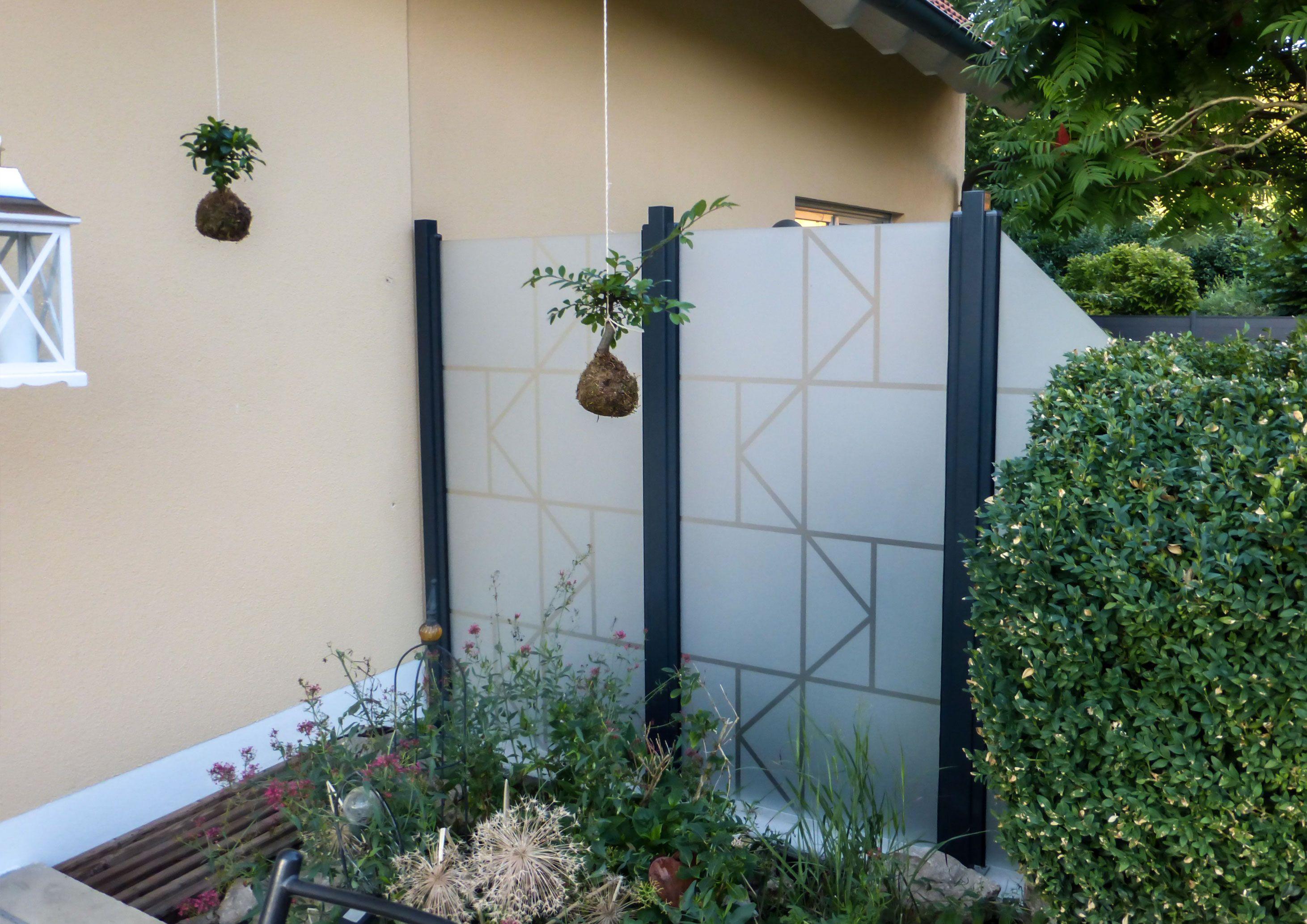 Pin Von Zaun Aus Glas Auf Wind Und Sichtschutz Aus Glas Fur