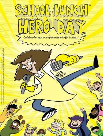 Surprise Your Cafeteria Staff With This School Lunch Hero Day